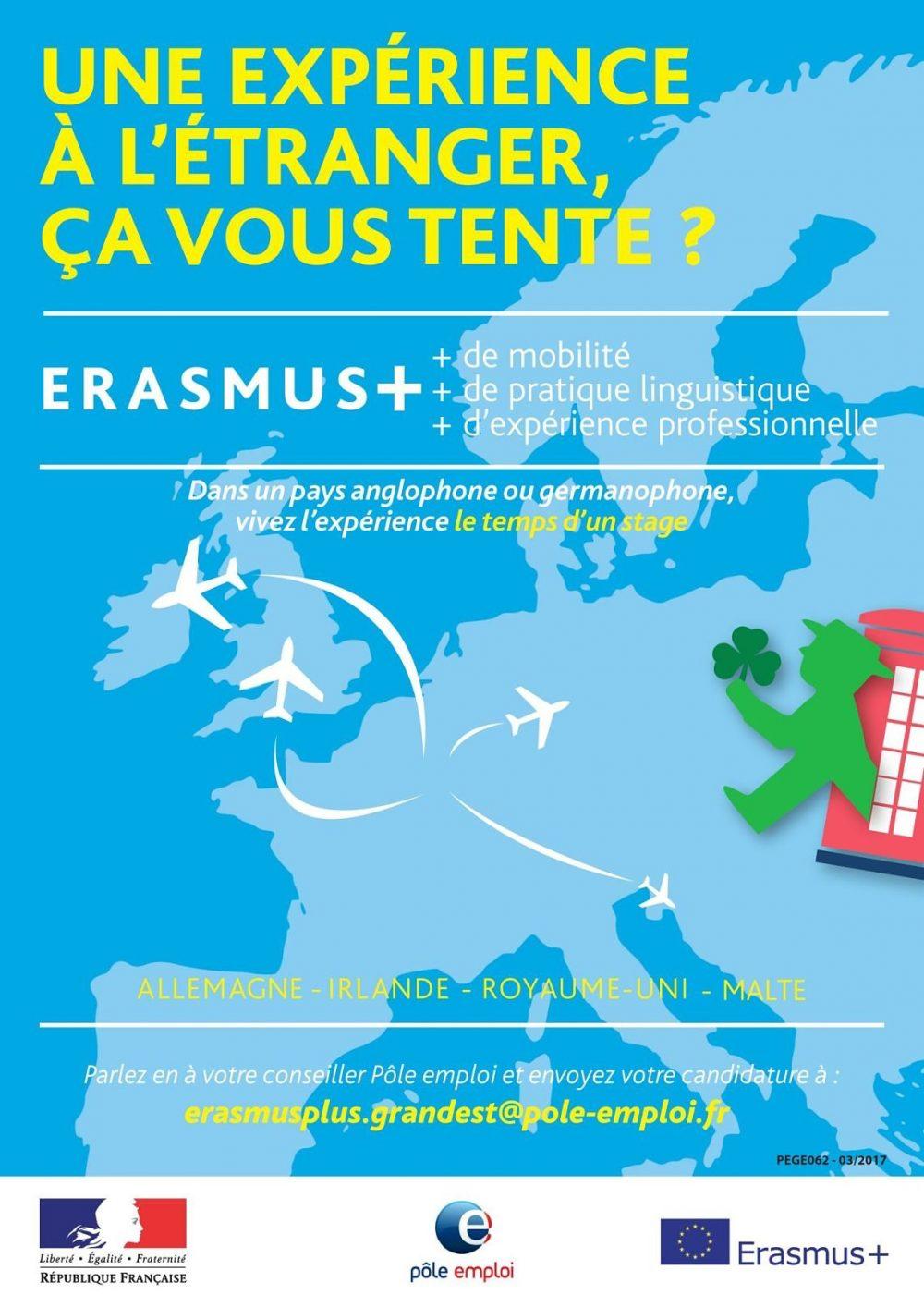 ERASMUS+, 3 MOIS DE STAGE PROFESSIONNEL EN ALLEMAGNE POUR GAGNER EN COMPETENCE