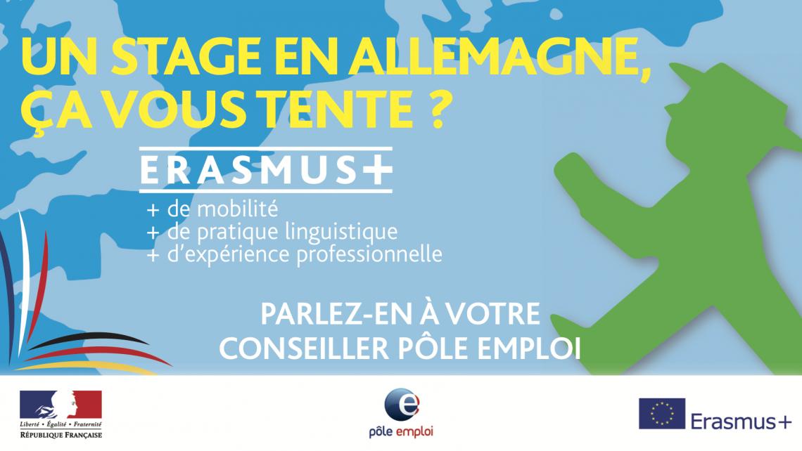 Stages Erasmus + pour les demandeurs d'emploi du Grand Est