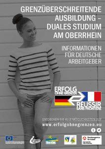 Grenzüberschreitende Ausbildung am Oberrhein - Duales Studium