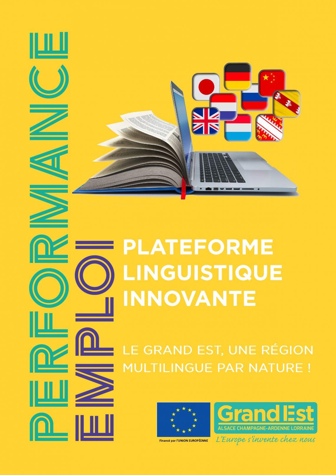 Plateforme linguistique innovante