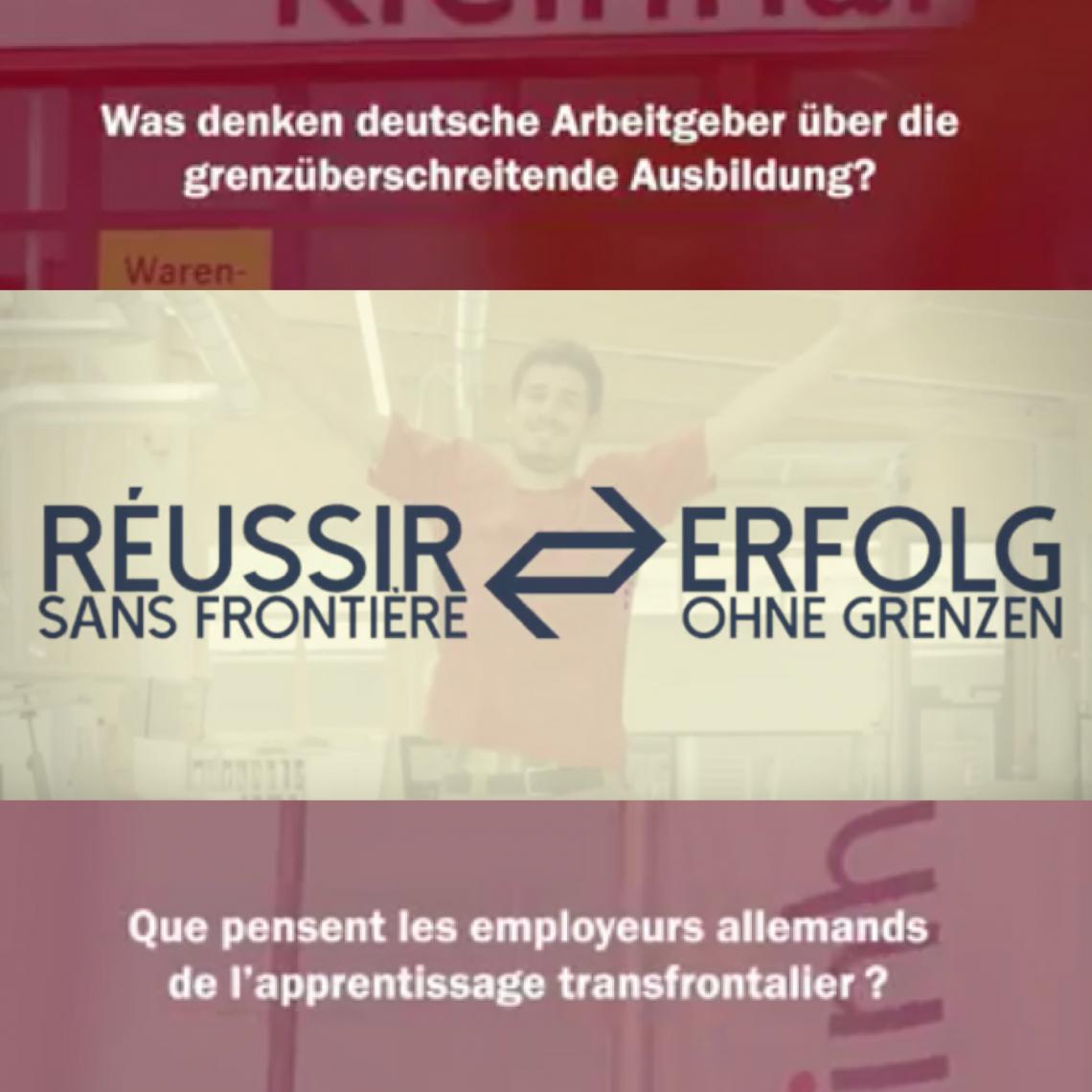 Que pensent les employeurs allemands de l'apprentissage transfrontalier ?