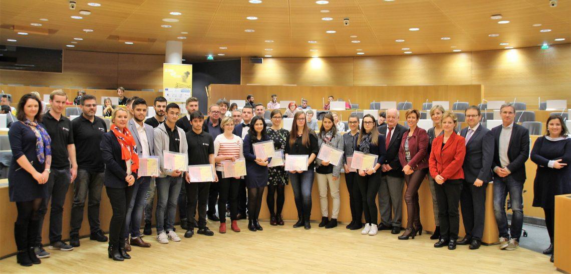 Mobilité transfrontalière dans l'espace du Rhin Supérieur pour les élèves, étudiants et apprentis