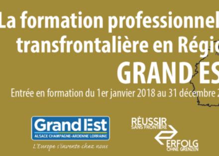 La formation professionnelle transfrontalière en Région GRAND EST